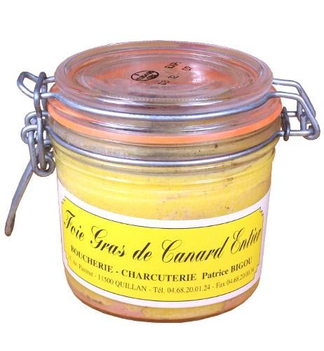 Foie gras de canard de 350 gr
