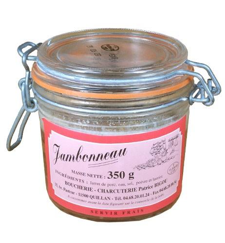 Jambonneau en verrine 350gr